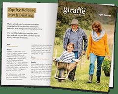Giraffe Equity Release brochure pack